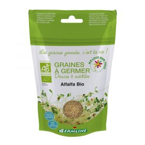 Germline Graines à Germer Bio d'Alfalfa 150g
