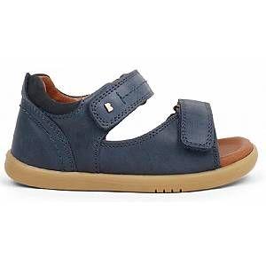 Bobux IW Driftwood Sandal Mixte Enfant, Bleu (Navy 633601), 26 EU