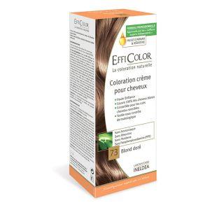 EffiColor Blond Doré N°73 - Coloration crème pour cheveux