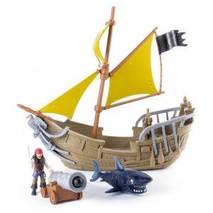 Spin Master Playset Bateau Jack Sparrow Pirates des Caraïbes
