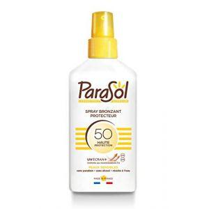 Parasol Parasol Spray Bronzant protecteur SPF 50
