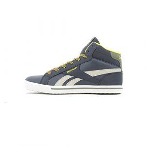 Reebok Royal Comp 2Ms, Chaussures de Fitness Mixte Enfant, Multicolore - Bleu Marine/Jaune/Vert