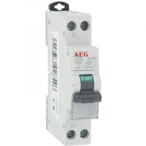 AEG Disjoncteur phase+neutre - Intensité 32 A - PH+N