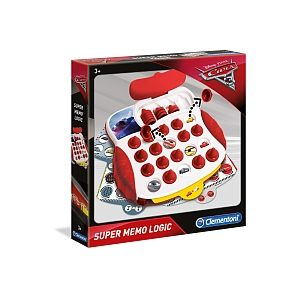 Clementoni Super Memo Logic Cars 3