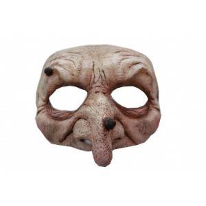 Demi-masque latex sorcière
