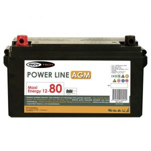 Inovtech Batterie 83Ah Power Line AGM réf. 496177