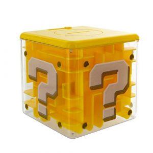 Paladone Miniatures - Super Mario tirelire / jeu Maze Question Block