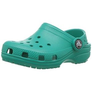 Crocs Classic Clog Kids, Sabots Mixte Enfant, Bleu (Tropical Teal), 33-34 EU