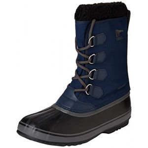 Sorel Chaussures après-ski 1964 Pac Nylon - Collegiate Navy / Black - Taille EU 43