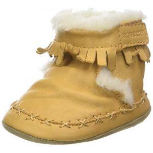 Robeez FUNKYSHOW, Chaussures de Naissance Mixte bébé, (Beige Miel 111), 21/22 EU