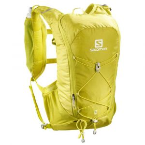 Salomon Agile 12 Set - Sac à dos trail taille One Size, jaune