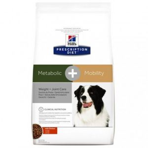 Hill's Prescription Diet canine Metabolic + Mobility - Sac 4 kg