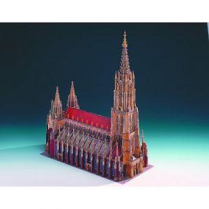 Schreiber-bogen 621 - Maquette en carton La cathédrale d'Ulm, Allemagne