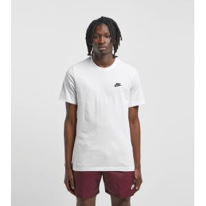 Nike Tee-shirt Sportswear Club pour Homme - Blanc - Taille L - Male