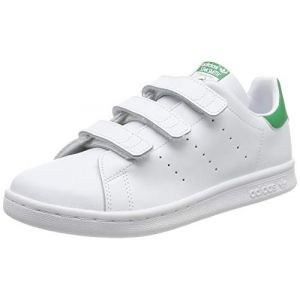 Image de Adidas Chaussures enfant STAN SMITH CF C blanc - Taille 28,29,30,31,32,33,34,35,33 1/2,27 1/2,31 1/2,30 1/2,28 1/2