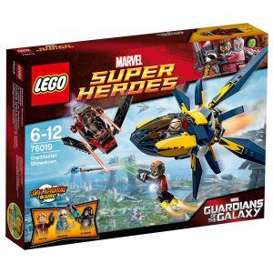 Lego 76019 - Super Heroes : Marvel Comics - Le combat du Starblaster