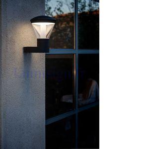 Faro Shelby LED - Applique extérieure IP44 Gris
