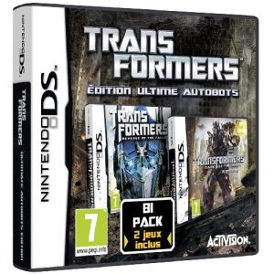 Bi-Pack Transformers Autobots : Revenge of the Fallen + Dark Side of the Moon [NDS]
