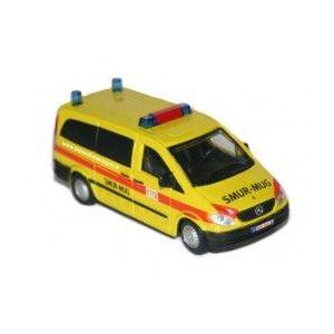 Bburago 32000 - Véhicule d'urgence (modèle aléatoire)