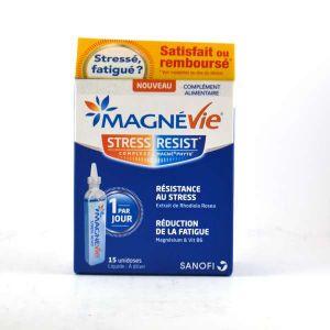 Sanofi Magnevie Stress Resist - 15 unidoses à diluer
