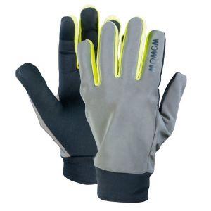 Wowow Dark 2.0 - Gants - réfléchissant jaune/gris XL Gants longs