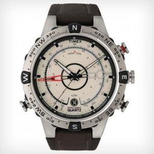 Timex T2N721D7 - Montre pour homme avec bracelet en cuir