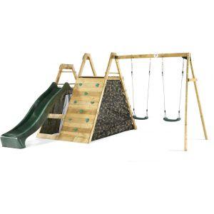 Plum Pyramid + balançoire - Aire de jeux