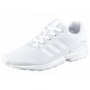 Adidas ZX Flux, Sneakers Basses Mixte Enfant, Blanc (FTWR White/FTWR White/FTWR White), 36 EU
