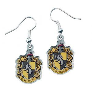 Boucles d'oreilles officielles Harry Potter Motif Poufsouffle