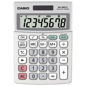 Casio MS-88ECO - Calculatrice de bureau écologique