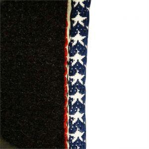 Couture Option ganse drapeau Américain pour tapis 60200