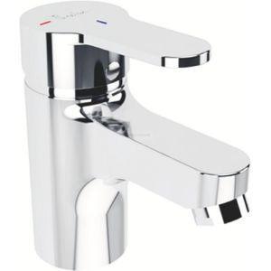 Porcher Mitigeur de lavabo Olyos C3 sans tirette ni vidage chromé réf D1115AA