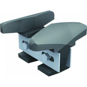 Mantion 1011 - Sabot fonte réglable (21 à 50 mm) pour porte courante