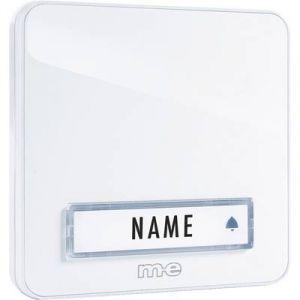 M-e Set complet pour Sonnette sans fil modern-electronics 41146 100 m blanc