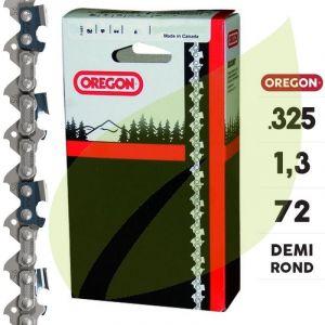 Oregon Chaine tronçonneuse 325 1.3mm 72 E 95VPX072E