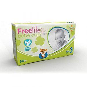 Freelife Bebe Cash Midi (4-9KG) Couches - Paquet de 54