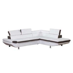 Canapé d'angle à droite fixe Loft 5 places