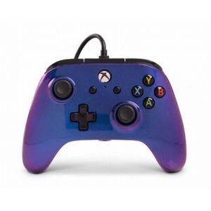 PowerA Manette Filaire Xbox One Nebuleuse Bleu