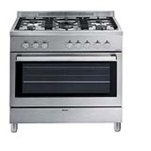 Sauter SCM1390X - Cuisinière gaz grande largeur avec four électrique 110 L
