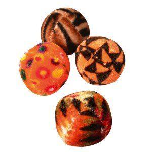 Zolux 4 balles multicolores pour chat