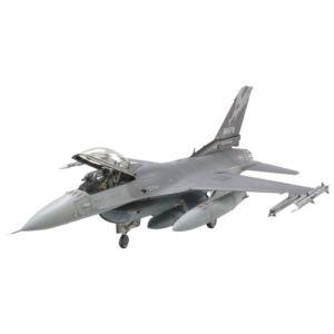 Tamiya Maquette avion Lockeed F-16C (block 25/32) : Fighting Falcon ANG - Echelle 1:48