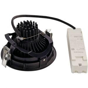 SLV Spot LED encastrable 118110 noir 38 W noir