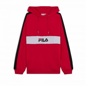 FILA Sweat-shirt - Jeremy Blocket Sweat - Rouge rouge - Taille 36,EU S,EU XS