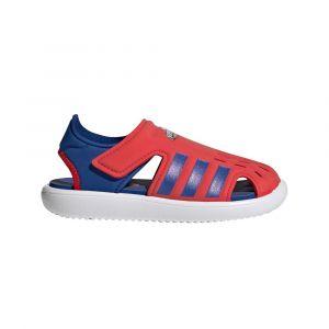 Adidas Water Sandals Kids, vivid red/royal blue/footwear white EU 32 Chaussures & Sandales natation