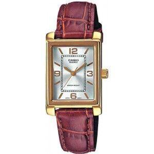 Casio LTP-1234 - Montre pour femme avec bracelet en cuir - Comparer ... bff72f483afd