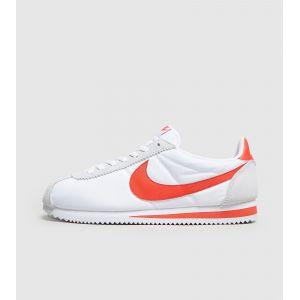 Nike Classic Cortez Nylon - 807472101 - Couleur: Blanc-Rouge-Gris - Pointure: 42.5