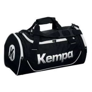 Kettler Kempa SPORTS BAG 30 L (S) - Sac de sport - Taille 49*26*24 cm - Ouverture en U - noir/blanc