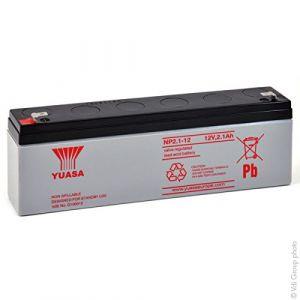 Yuasa Batterie plomb AGM NP2.1-12 12V 2.1Ah Batterie(s)