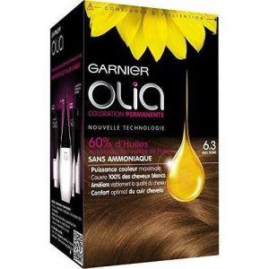 Garnier Olia 6.3 Miel Doré - Coloration permanente à l'huile sans ammoniaque