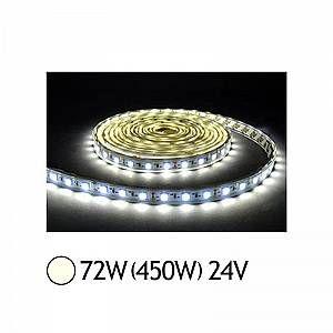 Vision-El Bandeau LED 72W (450W) 24V IP65 (Epoxy) Blanc jour 4000°K